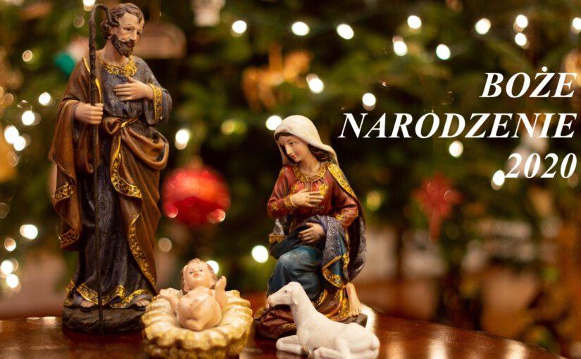 Plan nabożeństw naŚwięta Bożego Narodzenia, Nowy Rok, Objawienie Pańskie.